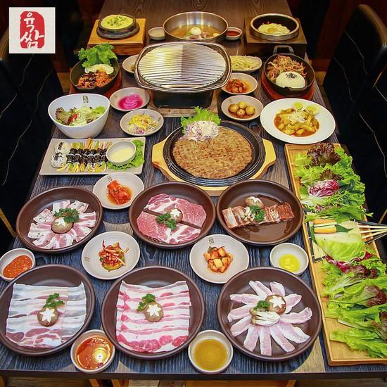 Buffet nướng chuẩn Hàn Quốc Yukssam BBQ - Cả ngày