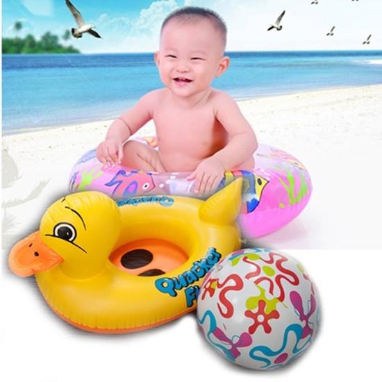 Combo Phao bơi và Bóng hơi cho bé