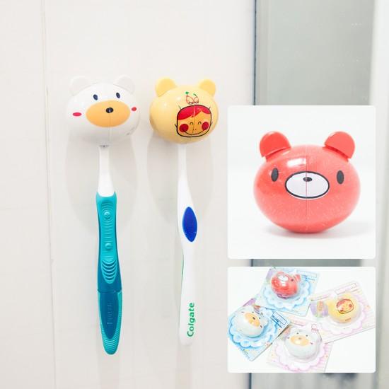 Combo 4 dụng cụ treo bàn chải đánh răng - Chỉ 49.000đ