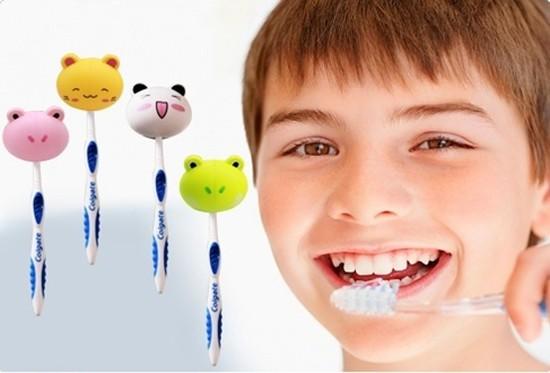 Bộ 04 chiếc Kẹp bàn chải đánh răng hình thú ngộ nghĩnh, dễ thương - Giúp bảo vệ bàn chải luôn sạch sẽ, vệ sinh - Chỉ với 40.000đ/4 chiếc