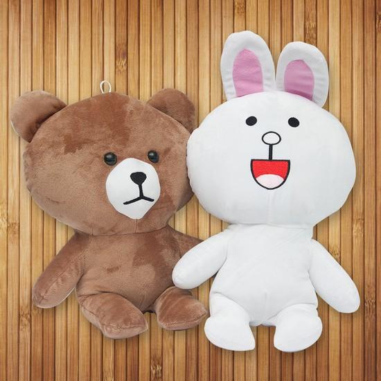 Thỏ cony và gấu brown