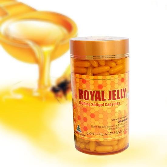 TPCN Sữa ong chúa Royal Jelly 1000mg (365 viên)
