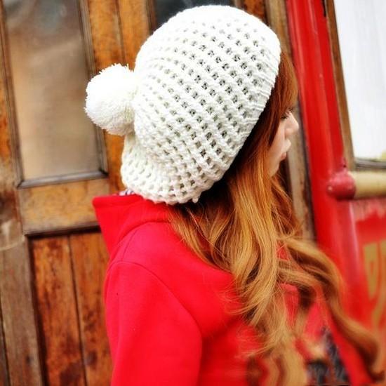 Mũ nồi len xinh xắn cho bạn gái