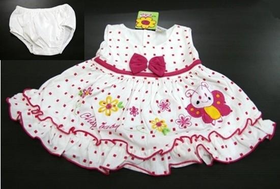 Bộ váy áo Cotton cho bé gái từ 01 đến 3,5 tuổi - Đáng yêu và xinh xắn - Chỉ với 70.000đ/bộ