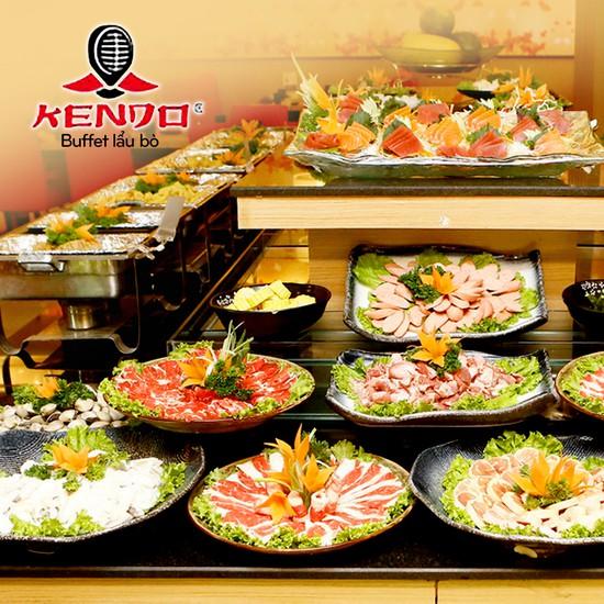 buffet lẩu bò Kendo tại royal city