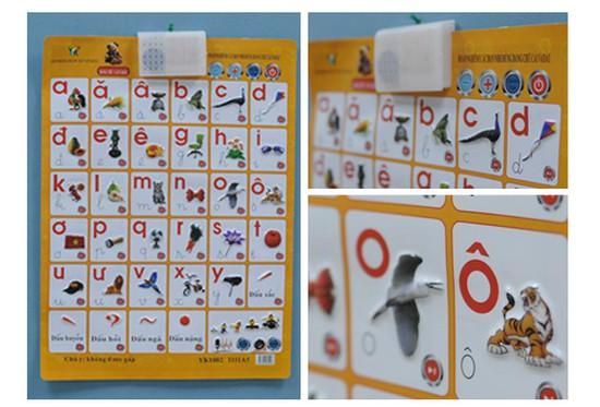 Bảng chữ cái điện tử treo thông minh giúp bé học chữ Tiếng Việt. Giá chỉ 115.000đ/ sản phầm