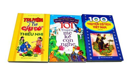 Bộ truyện cổ tích Việt Nam, truyện thơ, câu đố giúp nuôi dưỡng trí tuệ và tâm hồn văn chương của bé. Chỉ với 74.000đ