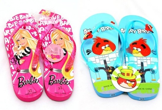 Dép xỏ ngón đáng yêu và xinh xắn với nhân vật hoạt hình cho bé trai và bé gái - Thật điệu cùng bé đón hè - Chỉ với 65.000đ/đôi