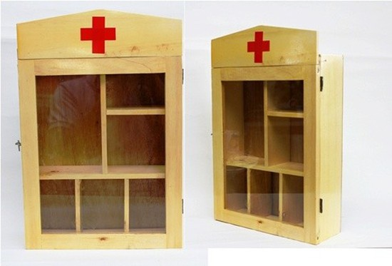 Tủ thuốc gia đình bằng gỗ bền, đẹp, tiện dụng - Chỉ với 95.000đ