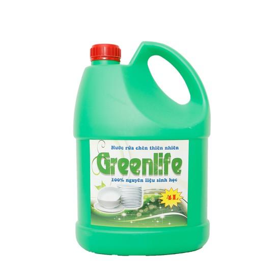 Nước rửa chén Green Life 100% nguyên liệu sinh học