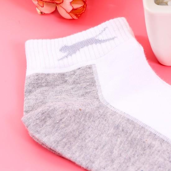 8 đôi tất cổ trung Hàn Quốc hàng dệt kim