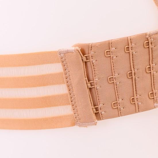 Áo lót đúc quai chéo sau, dây rút trước nâng ngực