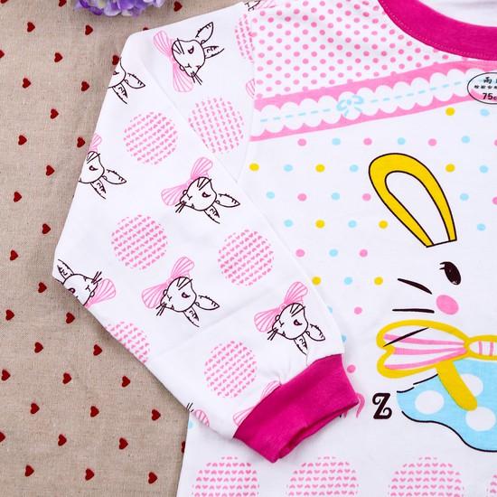 Combo 2 bộ dài tay họa tiết chất cotton cho bé lớn
