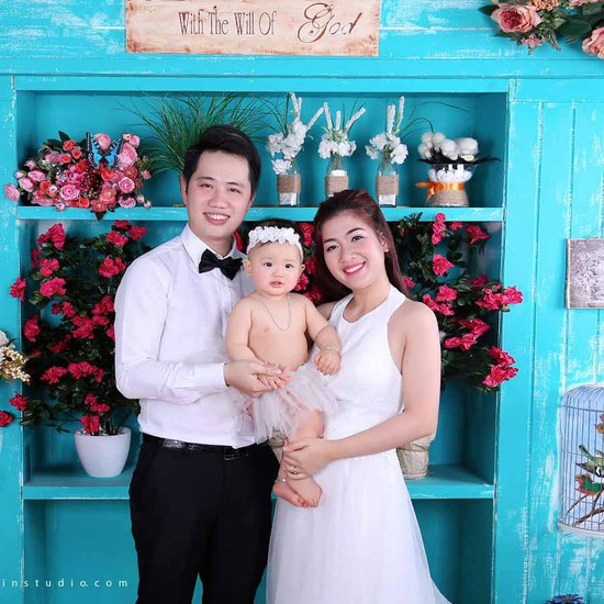 Chụp ảnh gia đình Suitin Studio- Đón Tết sum vầy