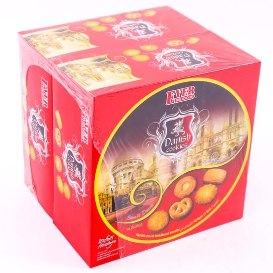 02 hộp bánh quy bơ hộp thiếc Danish Malaysia 454g