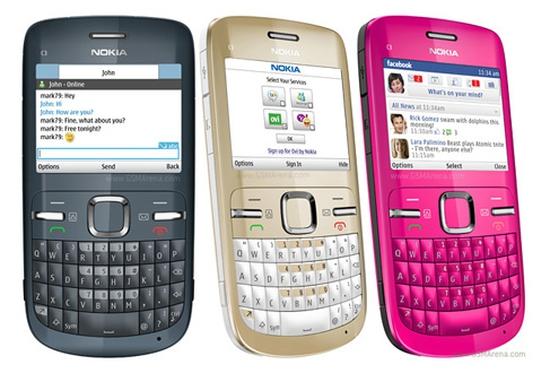 Nokia C3 Wifi, tích hợp sẵn Facebook, Yahoo chat, nghe nhạc cực đã