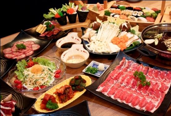Thưởng thức Buffet Nhật tại Yakiniku Shiki: Menu gồm 100 loại Shushi, hơn 50 món lẩu, nướng hấp dẫn - Tiết kiệm 40%