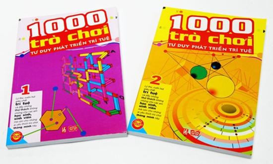 1000 trò chơi tư duy phát triển trí tuệ - Cuốn hút và đầy thử thách