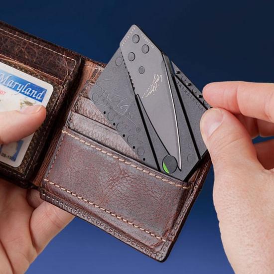 Combo 3 Dao gấp đa năng dáng thẻ ATM tiện dụng