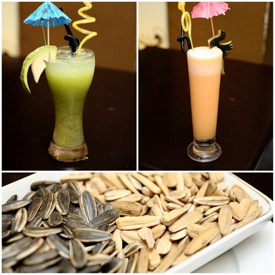 Combo ăn uống: Smoothie + Nước ép hoa quả + Hướng dương cho 02 người tại Cafe Royal - Chỉ với 63.000đ