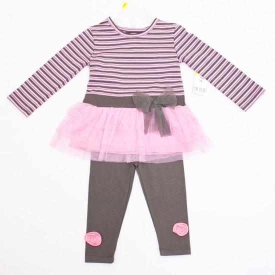 Giữ ấm cho bé khi đông về với bộ quần áo váy dài tay dễ thương - Chỉ với 110.000đ/ 01 bộ