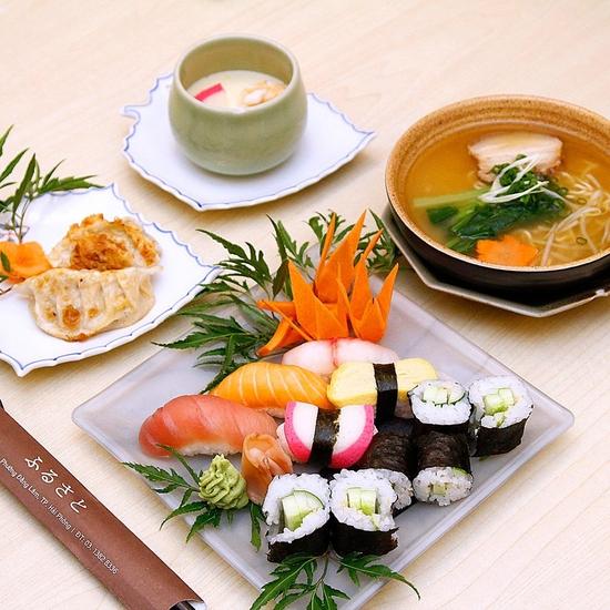 Chọn 1 trong 3 set ăn hương vị Nhật Bản lôi cuốn