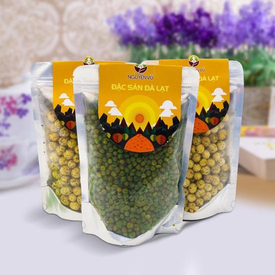 03 gói đậu phộng vị Hà Lan muối + rau củ Nguyên Vũ