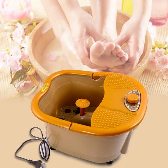 Bồn ngâm chân tự đun nước & massage Akiko Q868