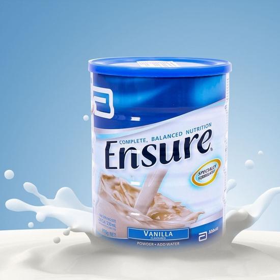 Sữa bột Ensure 850g vị Vani nhập khẩu Úc