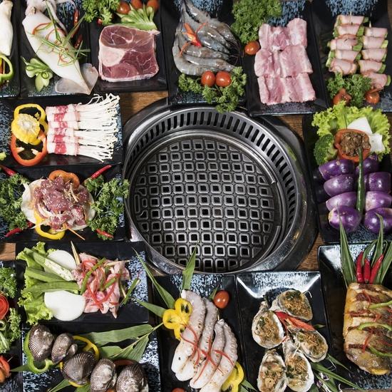 Buffet nướng lẩu ăn thả ga Galbi BBQ - Royal City