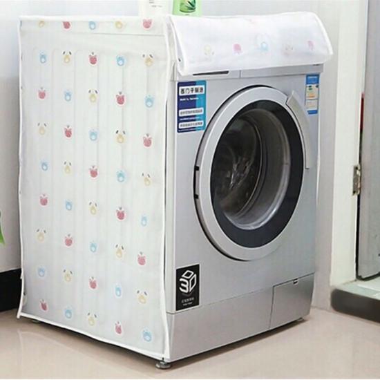 Vỏ bọc máy giặt cửa ngang họa tiết xinh xắn