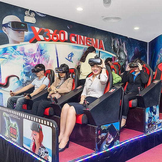 Vé xem phim 10D hấp dẫn tại X360 Cinema-Royal City