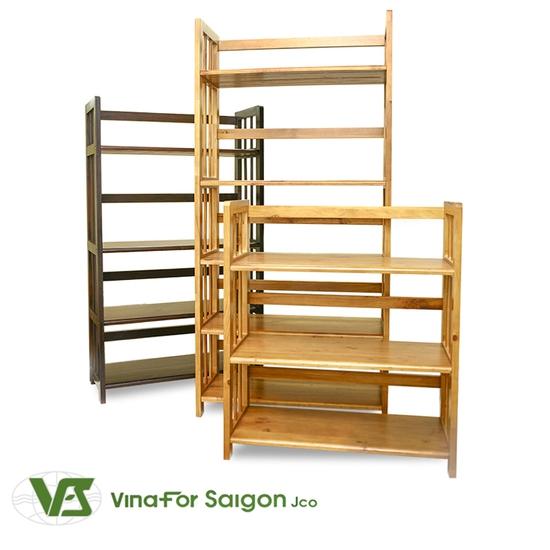 Kệ gỗ đựng sách 3 tầng sang trọng - Cho không gian sống ngăn nắp, khoa học - Chỉ 390.000đ/01 chiếc