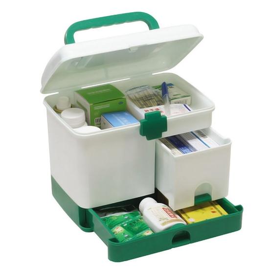 Tủ thuốc gia đình size lớn, nhiều ngăn tiện ích