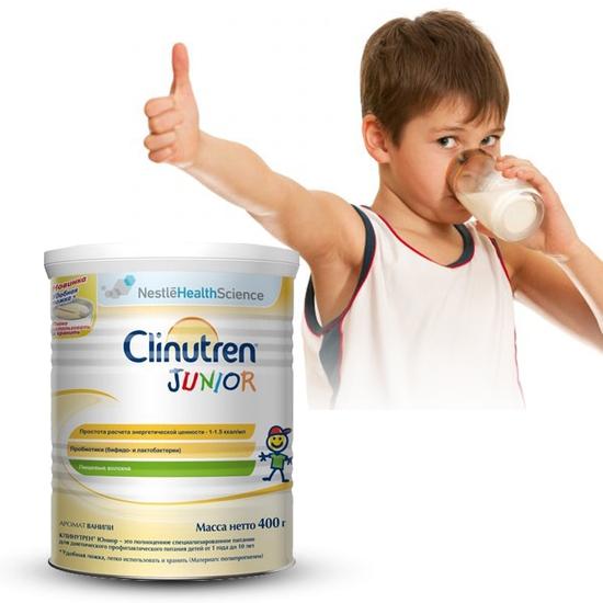 Sữa bột tăng cân Clinutren Junior 400g NK Thụy Sỹ
