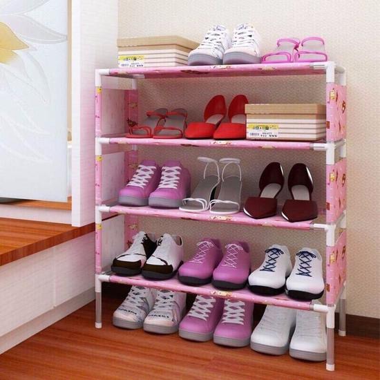 Kệ giày dép 4 tầng mẫu mới 2017