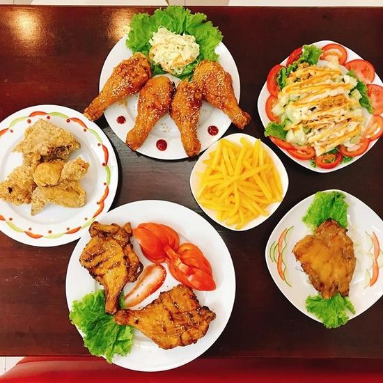 Set 6 miếng gà chiên (cay/không cay) kiểu Hàn Quốc