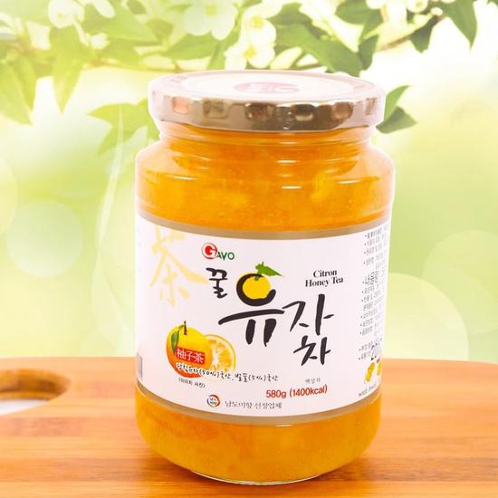 Mật ong chanh Hàn Quốc lọ 580g, tốt cho sức khỏe