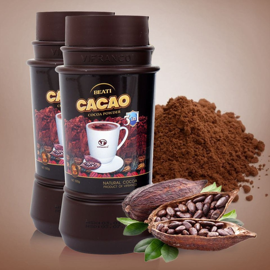 2 hộp Beati Cacao sữa uống liền 3 in 1 Việt Pháp