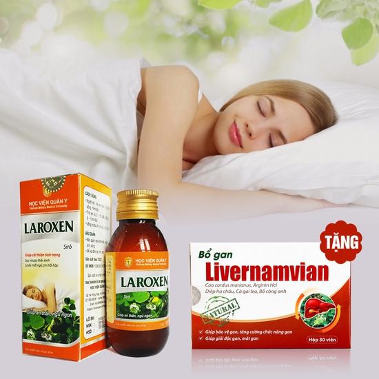 Siro Laroxen giúp an thần ngủ ngon-Học Viện Quân Y