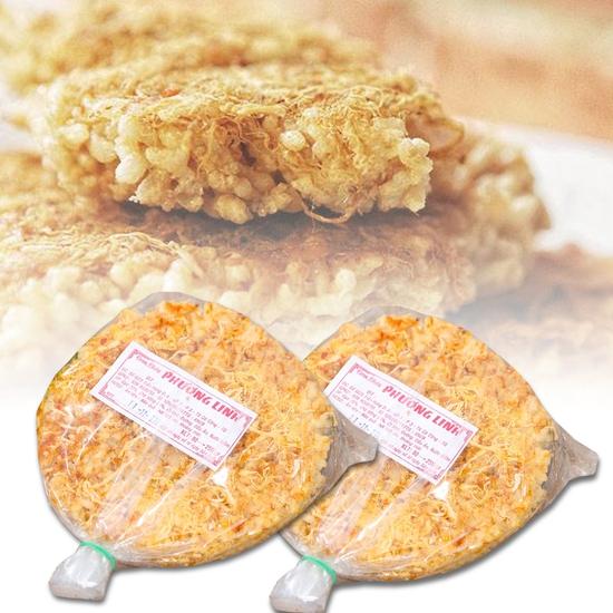 06 gói cơm cháy Phương Linh giòn ngon (80g/ gói)