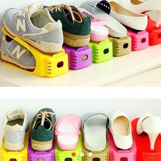 Combo 5 kệ để giầy thông minh tăng giảm chiều cao