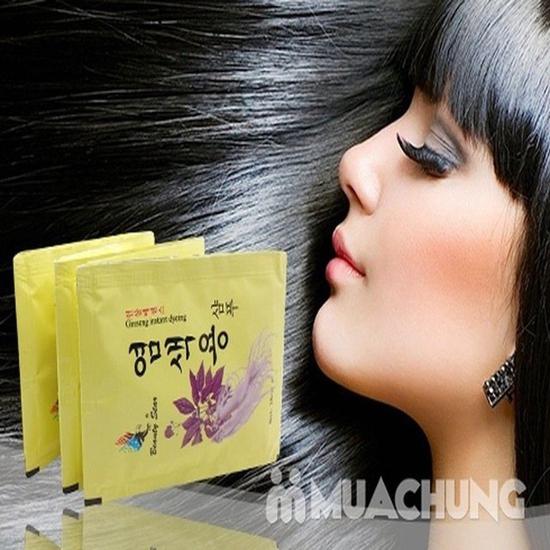 10 gói dầu gội đen tóc thảo dược - NK Hàn Quốc