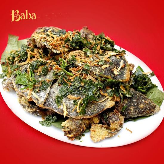 Đặc sản Baba một món hấp dẫn (Baba cỡ đại 1,5-2kg)