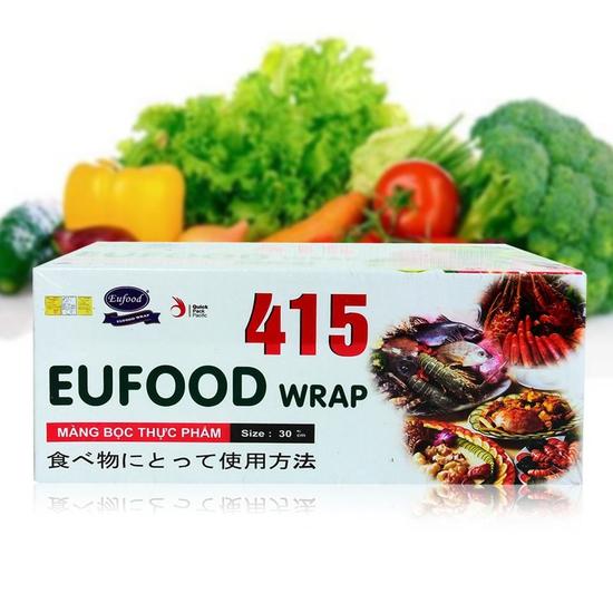 Màng bọc thực phẩm Eufood Wrap 415 có thanh cắt