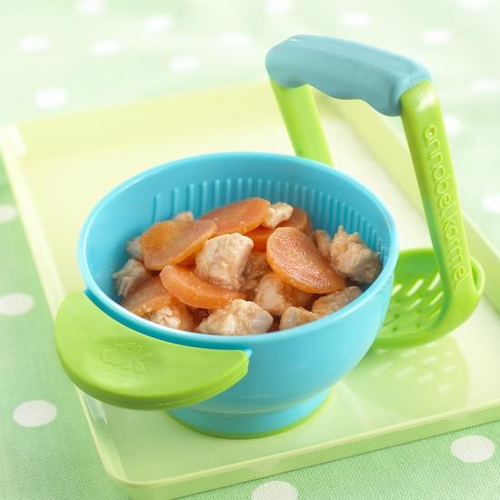 Bát nghiền đồ ăn tiện dụng, đa năng cho bé