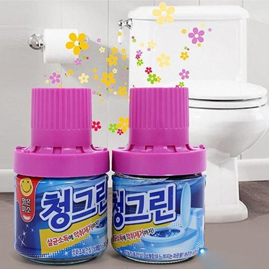 2 Chai thả tẩy bồn cầu Hàn Quốc