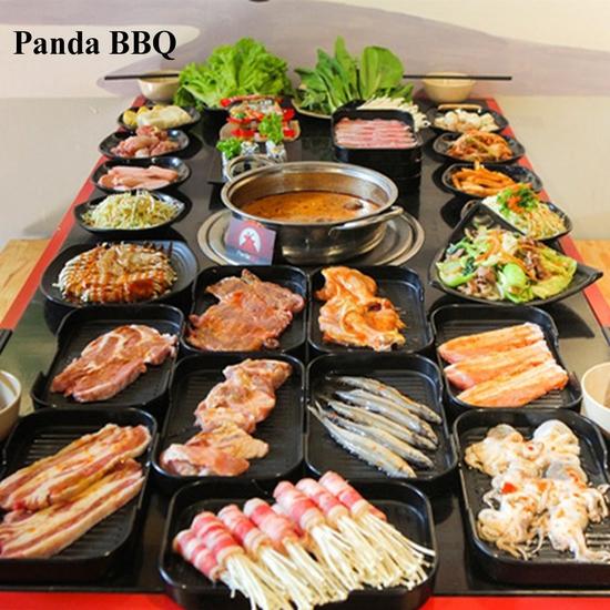 Buffet Nướng Lẩu ăn không giới hạn tại Panda BBQ