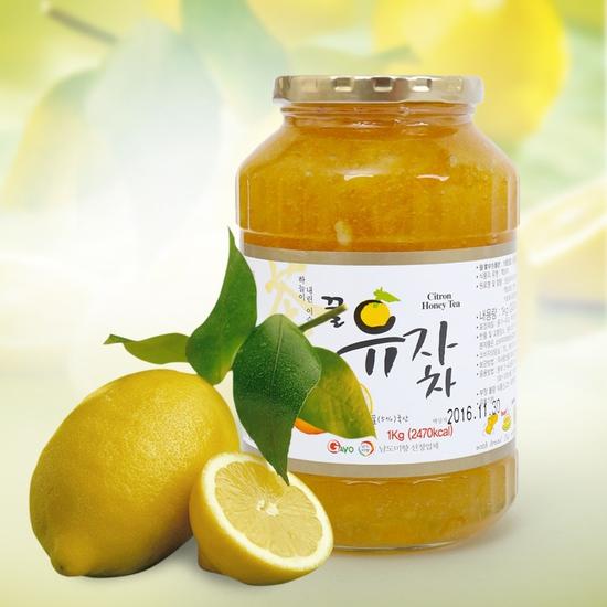 Mật ong chanh Hàn Quốc lọ 1kg