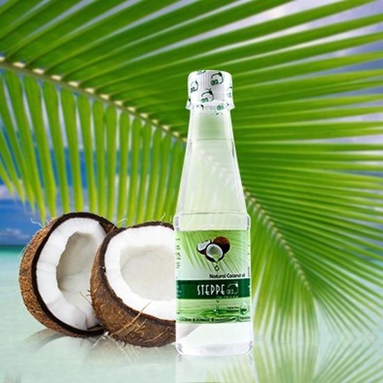 2 chai dầu dừa Steppe coco nguyên chất - 250ml